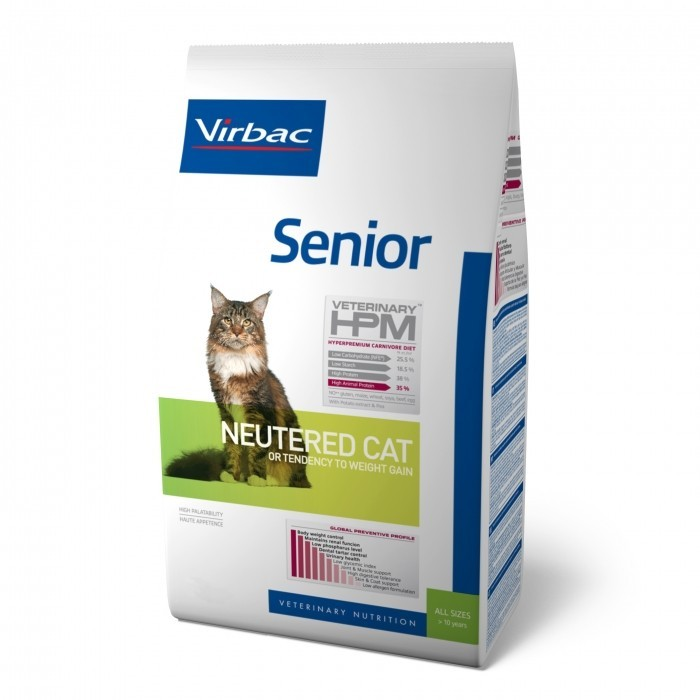 Croquettes Veterinary HPM Senior Neutered Cat