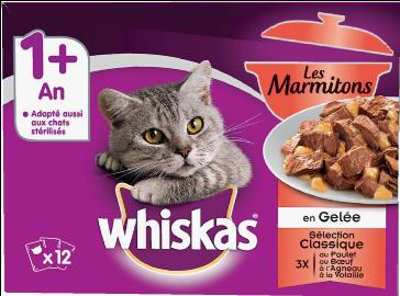 Whiskas® Les Marmitons