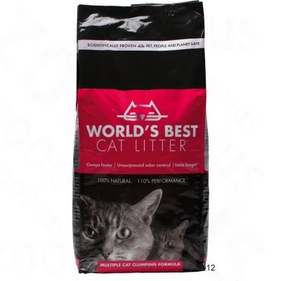 Litière World's Best Cat Litter Extra Strength