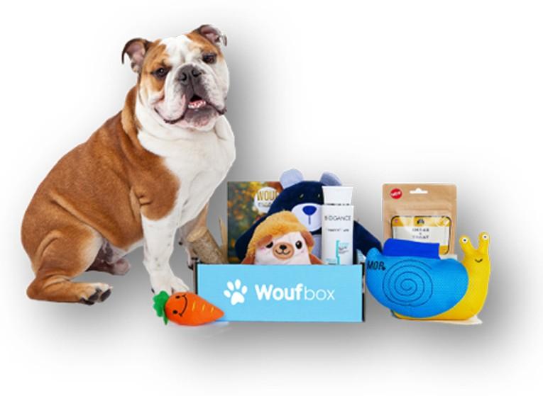 Coffret cadeau Woufbox
