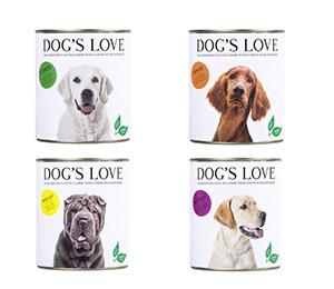 test Alimentation pour chiens