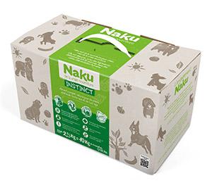 test Nourriture Naku pour chien