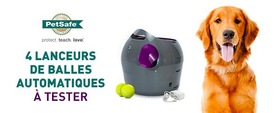 Testez gratuitement le lanceur de balle automatique pour chien de petsafe - Lanceur de balle pour chien automatique ...